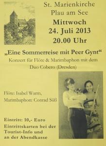 Konzert am 24. Juli 2013